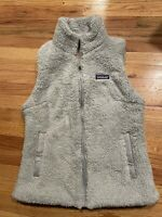 New Patagonia Women's Los Gatos Full Zip Vest Drifter Grey Size Medium Gray