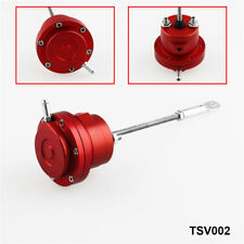 Universal 150mm Aluminum Alloy Red Turbo Adjustable Wastegate Actuator & Rod