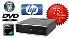 HP 6005 Sff AMD X2 B28 Dual-Core 3.4 Ghz 4 Gb 250 DVD Win 7