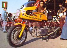 LAVERDA 750 SF SFC Racing Moto Show Carte Postale Moto Postcard Motorcycle #0457