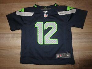 Seattle Seahawks 12th Man NFL Nike Jersey Toddler 4T