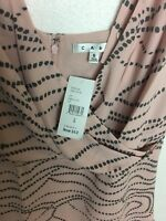 "Cabi Womens Size 6 Style 273 Pink Abstract ""Sophia Cami"" Sleeveless Cami Tank"