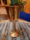 Old Vtg SALEM SILVERPLATE SILVER GOBLET CHALICE CUP STEMWARE Kiddish Cup