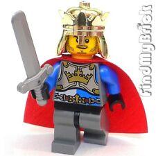 C390 Lego Kingdom Castle Lion Knight King Army Minifigure 70404 NEW