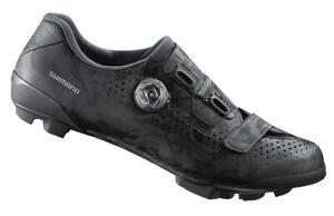 Shimano RX8 Carbon Gravel Cycling Shoes Black SH-RX800 Wide Width 45E (US 10.5)