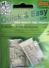 CMK F-104 Starfighter engine Motor 1:48 Modell-Bausatz for Hasegawa kit NEU OVP