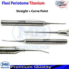 Dental Luxating Flex Periotome Extraction Screw Kit Periodontal Implant Surgical