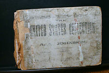 THE UNITED STATES COLLECTION,JOHNSON,1865?CHURCH MUSIC,SONGS,LESSONS