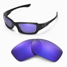 New Walleva Polarized Purple Lenses For Oakley Fives Squared