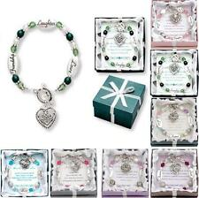 Expressively Yours Bracelets - Crystal & Silver - w/ Verse Card & Gift Box