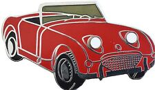 Austin Healey Sprite MkI (Bugeye - Frogeye) lapel pin  - Red