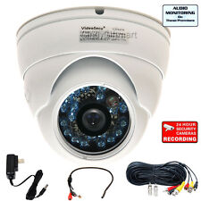 Wide Angle Security Camera Outdoor Day Night with SONY CCD+Audio Microphone a13