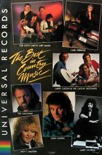 "UNIVERSAL RECORDS ""BEST IN COUNTRY MUSIC"" POSTER  (C10)"