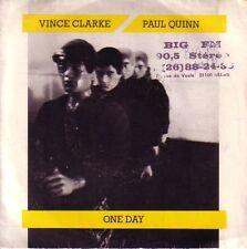 "7"" 45 TOURS FRANCE VINCE CLARKE PAUL QUINN One Day / Song For"" 1985 DEPECHE MODE"