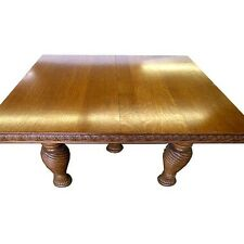 Victorian Oak Dining Table #2011
