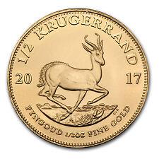 2017 South Africa 1/2 oz Gold Krugerrand - SKU #117275