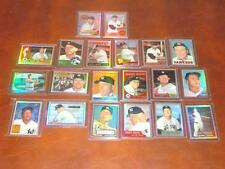 1996 Topps Mantle Finest No Peel Refractor 1-19 Complete set VERY RARE