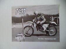 advertising Pubblicità 1977 MOTO TGM 125 R REGOLARITA'