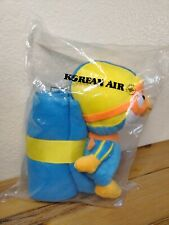 "New Pororo Toy Little 9"" 23 cm Penguin Doll + Plush Blanket Bonus Korean Air NIP"