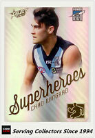 2015 AFL Champions Superheroes Refractor Card AS21 Chad Wingard (Port Adel)