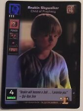 Star Wars Young Jedi ccg UR Anakin Skywalker, Child of Prophecy Reflections Foil