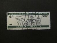 1966 - MEXICO - FOOTBALL - SCOTT C319 A248 2,25P