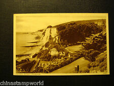1956 old GB postcard,Holywell retreat,Eastbourne,