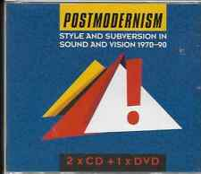 POSTMODERNISM STYLE AND SUBVERSION IN SOUND AND VISION 1970-90.2 CD + DVD GOOD