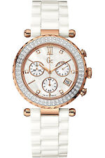 GUESS COLLECTION A22104M1,Ladies,Diamonds On Bezel,Sapphire,Screw Crown,100m WR