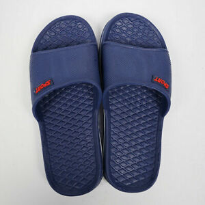 Men's Slip On Sport Slide Sandals Flip Flop Shower Shoes Slippers House