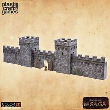 Plast Craft Games Colored SAGA Defensive Wall box new