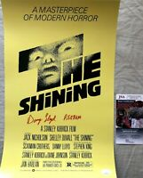 Danny Lloyd signed autographed Shining 12x18 movie poster inscribed REDRUM (JSA)