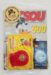 PICSOU magazine N°500 + LE GADGET et LE SOU FETICHE .NEUF . 2014 .sous scellés