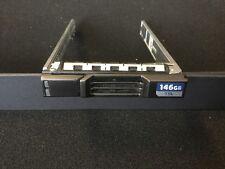 """DELL COMPELLENT SC220 2.5"""" SAS SATA HARD DISK DRIVE CADDY TRAY 7D4F6 07D4F6"""