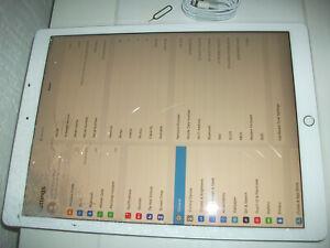 Apple iPad Pro 2nd Gen. 256GB, Wi-Fi + 4G (Unlocked), 12.9 in - Silver***READ***
