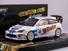 MINICHAMPS VALENTINO ROSSI 1/43 FORD FOCUS WRC BETA RALLY MONZA 2007 L.E 1008 PZ