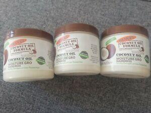 PALMER'S COCONUT OIL FORMULA MOISTURE GRO SHINING HAIRDRESS 150g x3 Tubs