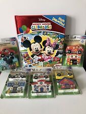Melissa Doug Mickey Mouse Clubhouse Wooden Set + Book NEW