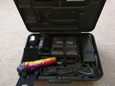 Sony BMC-220 Betamovie Camera Camcorder and Betamax Editing System SL-2700/2700B