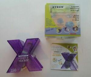 "Xyron 150 Create-A-Sticker Machine-1.5""X20' Permanent Make Your Own Stickers DIY"
