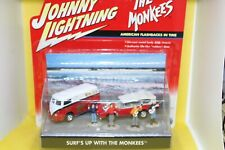 Johnny Lightning Diorama Surf's Up with the Monkees - American flashbacks