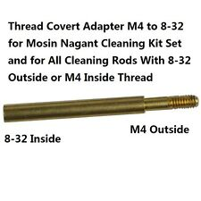 Thread Covert Adapter M4 to 8-32 for Mosin Nagant M44 Cleaning Kit