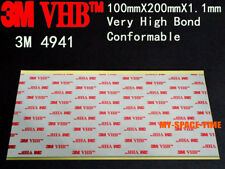 3M VHB #4941 Double-sided Acrylic Foam Tape Automotive 100mm X 200mm