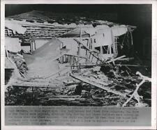 1952 Press Photo Phenix City, Ala. Hugh Bentley home explosed from a blast