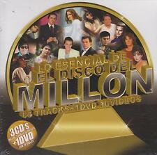 CD - Lo Esencial De El Disco Del Millon NEW 3 CD's & 1 DVD FAST SHIPPING !