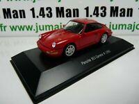 POR3W : voiture 1/43 atlas NOREV PORSCHE 911 : PORSCHE 911 carrera 4-1991