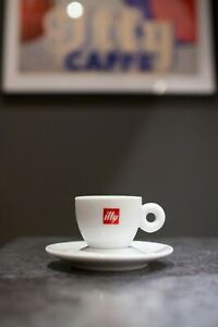 NEW x8 illy Coffee Cups (Espresso) IPA Genuine - Classic