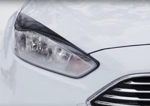 For Ford Focus III gen Eyebrows Eyelids Eye Line 2014-2019 Set Restyle Body