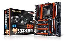 Gigabyte X99 SOC CHAMPION Intel DDR4 E-ATX Motherboard Socket 2011-3