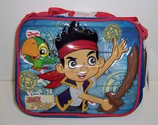 Disney JAKE and the NETHERLAND PIRATES LUNCHBAG LUNCH BAG Box Tote Case NEW!!